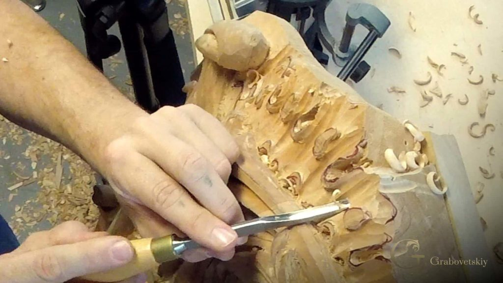 Woodcarving School Grinling Gibbons style of Woodcarving