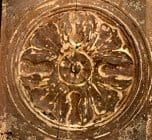Antique Rosette carving