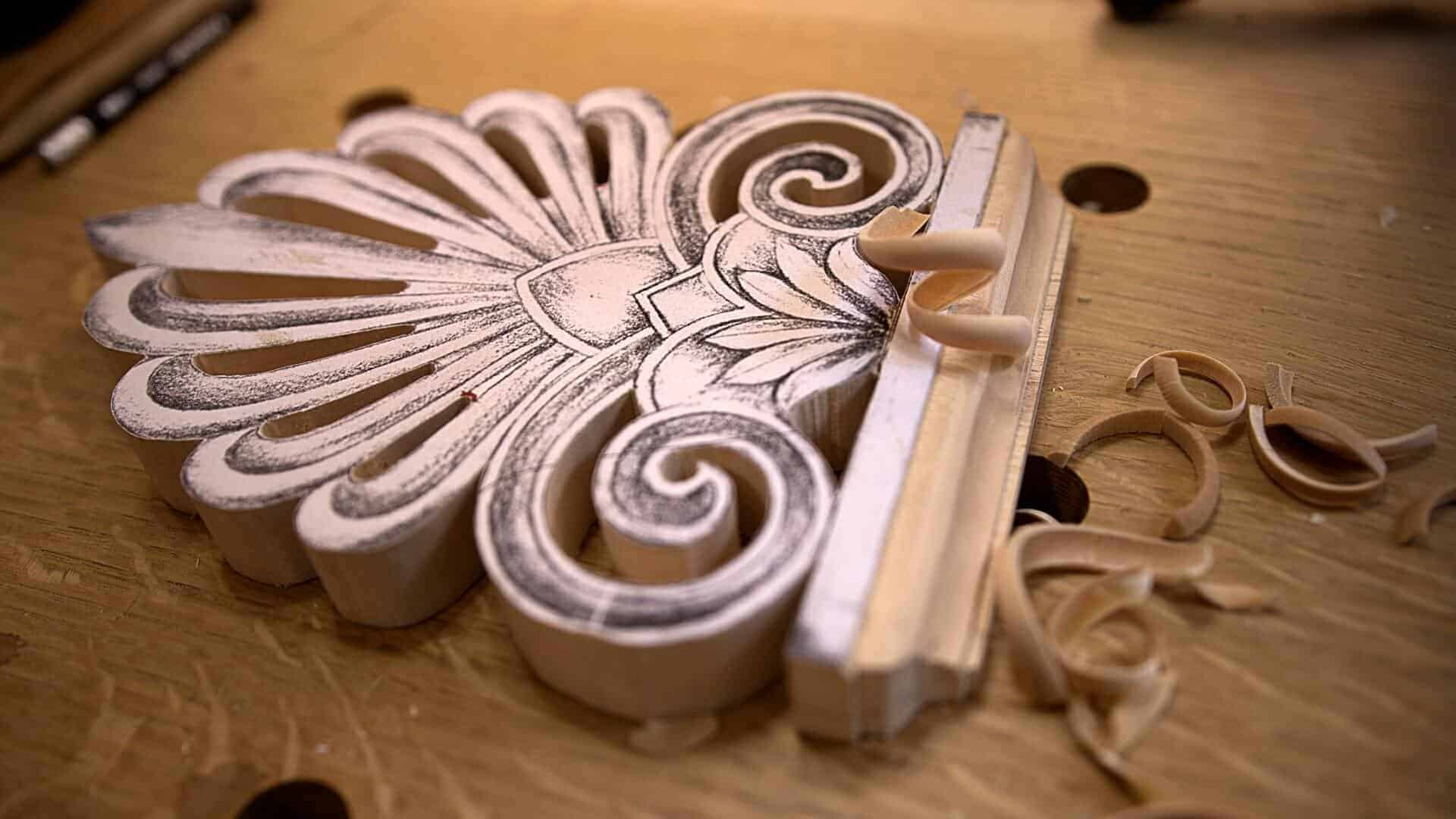 Carving Greek Style Acroterion School of Woodcarving http://schoolofwoodcarving.com/ #woodcarving #woodworking #architecturalcarving #furniturecarving @grabovetskiy