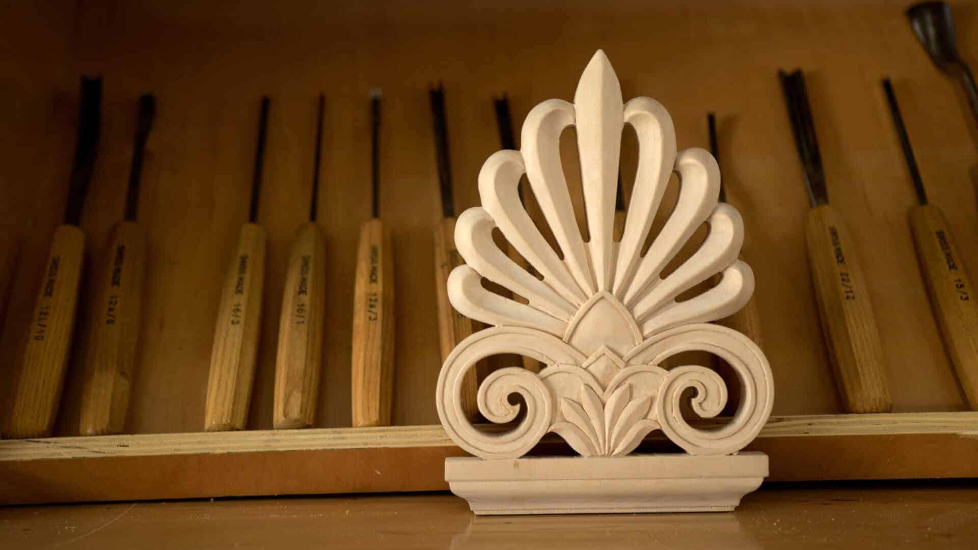 Learn to Carve a Greek Acroterion at School of Woodcarving #woodcarving #woodworking @grabovetskiy http://schoolofwoodcarving.com/