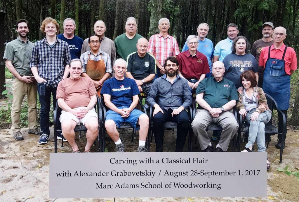 Carving with Classical Flair - Alexander Grabovetskiy - Marc Adams School of Woodworking 2017