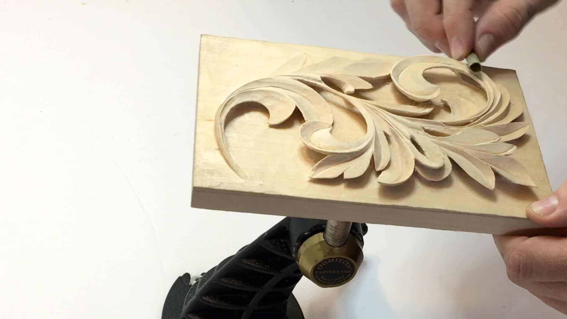 Carving Greek Acanthus Leaf 5 Grabovetskiy School Of