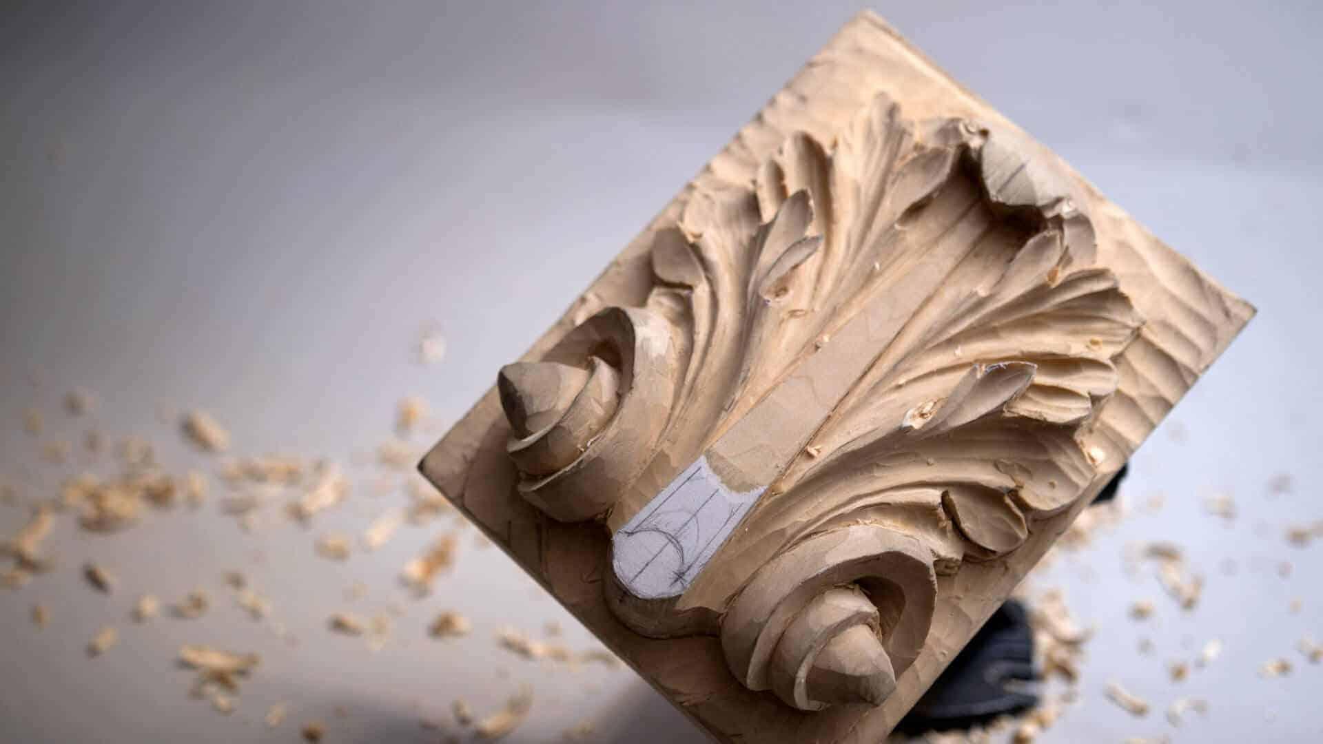 Carving Roman Acanthus 2 Grabovetskiy School Of Wood Carving