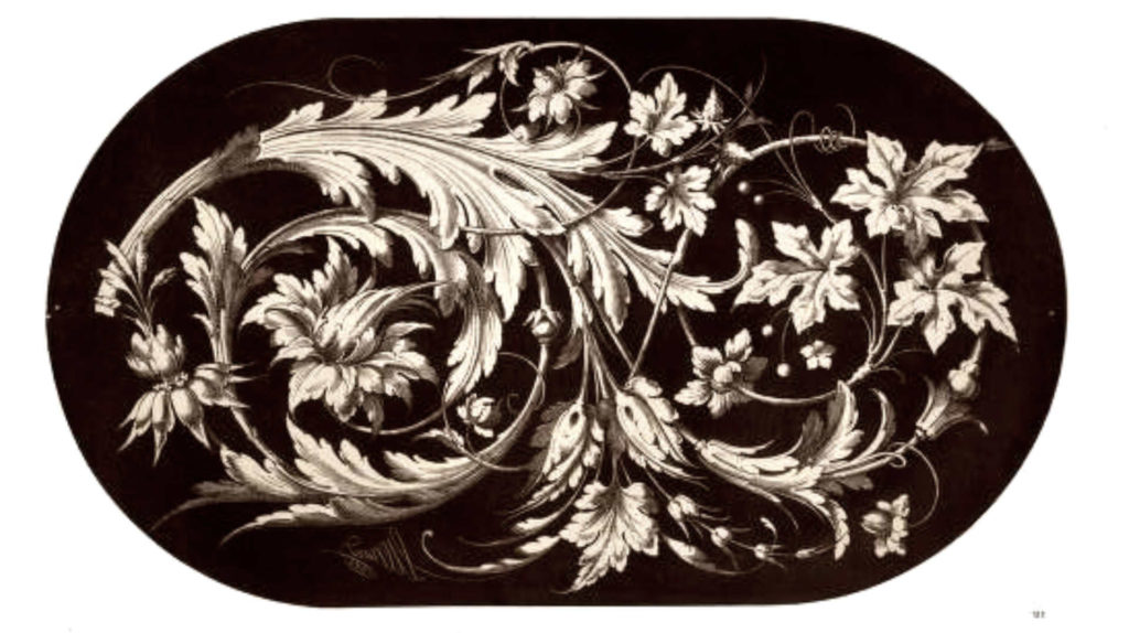 Baroque Ornament for Woodcarving