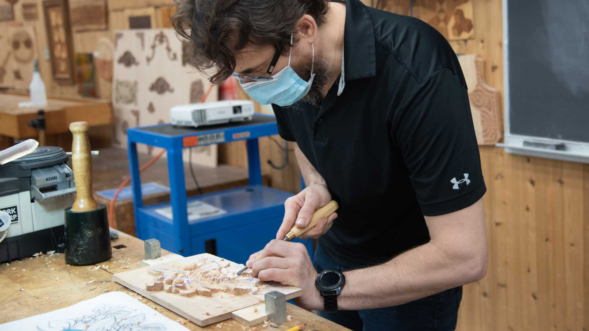 Learn Wood Carving with Alexander Grabovetskiy